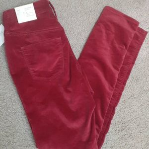 Universal Thread High Rise Skinny Sueded Pants